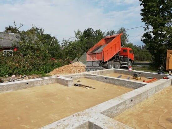 Фундамент свайно-ростверковый под ключ в Иркутске